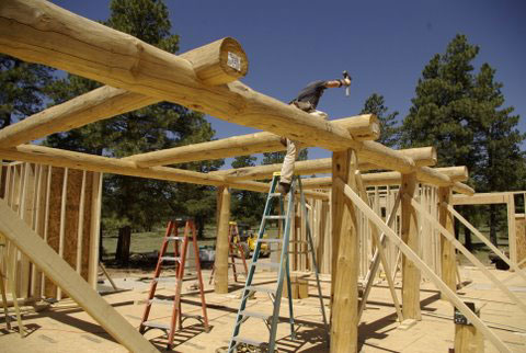 Right through to the completion of your log home or timber frame home - Custom Log Homes Latest News